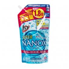 LION TOP SUPER NANOX ypač koncentruotas skalbimo gelis sunkiai šalinamiems nešvarumams, (papildymas), 660 g