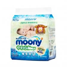 """""""MOONY"""" drėgnos servetėlės vaikams, 3x80 vnt."""