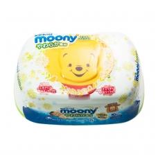 """""""MOONY"""" drėgnos servetėlės (su dėžute), 80 vnt."""