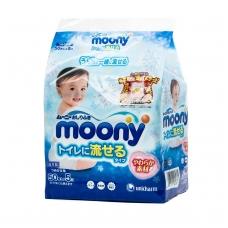 """""""MONNY"""" drėgnos servetėlės vaikams (tirpios vandenyje) 5x50  vnt."""