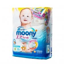 MOONY sauskelnės-kelnaitės kūdikiams, S dydis (4-8 kg), 62 vnt.