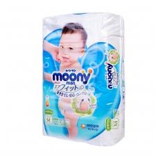 MOONY japoniškos sauskelnės kūdikiams, M dydis (6-11 kg), 58 vnt.