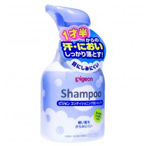 """PIGEON """"Baby Shampoo"""" skystas muilas vaikams nuo 1 metų, 350 ml"""