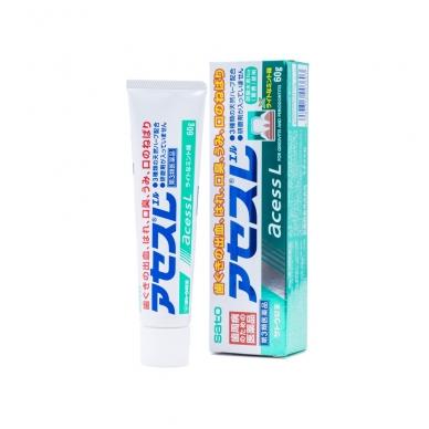 """""""Sato Acess L"""" dantų pasta su augaliniais ekstraktais, dantų ir dantenų priežiūrai (gingivito  profilaktikai), 60 g"""